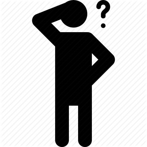 21454513-Think-The-Dude-in-a-classic-pose-in-front-of-blue-question-mark-Stock-Photo