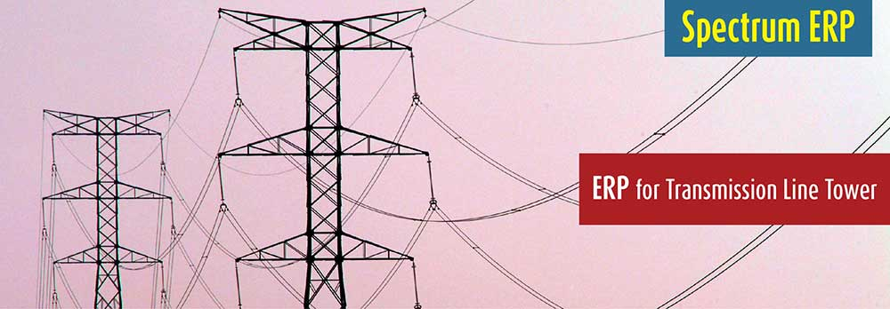 ERP for Transmission Line Tower Industry | ERP for TLT