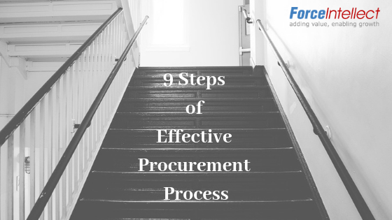9 Steps effective procurement process
