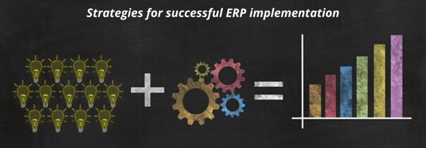 Strategy for successful ERP implementation