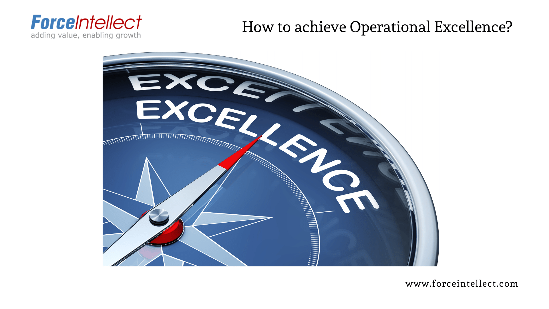 how to achieve operational excellence