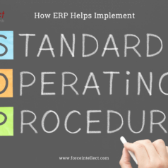 How ERP Helps Implement Standard Operating Procedures